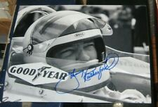 Johnny Rutherford 3x Indianapolis Indy 500 Champ Racing SIGNED 8x10 Photo COA