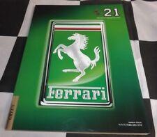 Ferrari magazine 21 mai 2013 brochure Ferrari LaFerrari F12 Berlinetta FF
