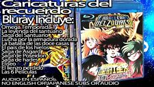 Caballeros del zodiaco coleccion Blu-ray en Español INCLUYE SANTUARIO y OMEGA