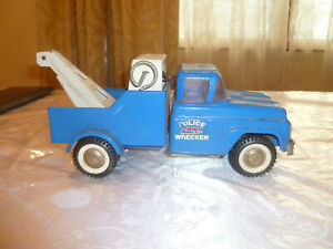 Vintage 1960 'Buddy L Police Wrecker' Tow Truck
