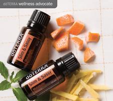 35%OFF doTERRA Slim Sassy 15mlx2 Therapeutic Essential Oil Weight Loss Burn Fat