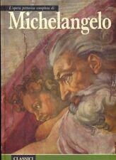 L'OPERA PITTORICA COMPLETA DI MICHELANGELO ETTORE CAMESASCA E81