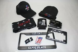 Elvis' Place FXR-or- DIE! 20 Year Anniversary beanie hat + ball cap +++ EPS22051