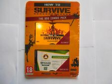 how to survive pc steam the bbq zombie pack jeu + les 3 dlc neuf sous blister