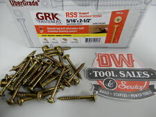 RSS™ Rugged Structural Screw 5/16″ x 2 1/2″ Lag (50) GRK