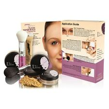 Thin Lizzy 7 Piece Loose Minerals Kit Light Duchess Oriental Doll Makeup