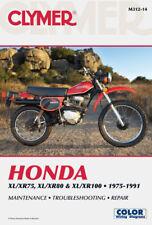 CLYMER SERVICE MANUAL HONDA XR75 1975-1978 & XR80 1979-1984 84 83 82 81 80 79 78