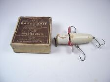 Vintage Decker Rotary Wood Fishing Lure In Box