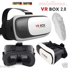 Gafas VR BOX 2.0 3D - Realidad Virtual Samsung Sony + Mando Bluetooth + Pilas