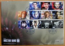 2013 DOCTOR WHO 50TH ANNIV LIMITED EDITION COMMEMORATIVE SOUVENIR STAMP COVER