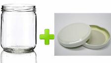 Kit da 40 vasetti vasi in vetro per marmellate cc 446 con capsula da 82