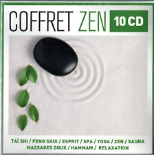 COFFRET ZEN 10 CD - MASSAGES RELAXATION FENG SHUI YOGA - CD COMPILATION NEUF