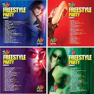 KTU's Freestyle Dance Party -4CD Non-Stop Dance Mix