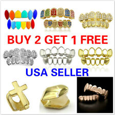 20+ Styles Hip-hop Rapper Mouth Caps Custom Teeth Grills Tooth Grillz Set