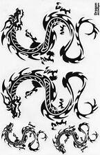 N-499 Drachen Dragon Aufkleber Sticker 1 Bogen 27 x 18 cm Racing Tuning