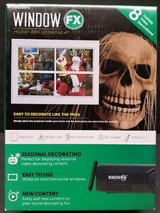 Window FX Animated Projector Kit Christmas Halloween Seasonal Holiday Videos