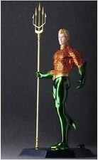 DC COMICS CRAZY TOYS AQUAMAN JUSTICE LEAGUE ACTION FIGURES STATUE MODEL TOY