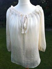 Paul & Joe Silk blouse size 14