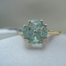 Neon Blue Certified Paraiba Tourmaline & Diamond Gold Ring