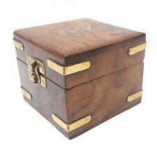 Vintage Look Beautiful Handmade Wooden Handicraft Jewellery Storage Box