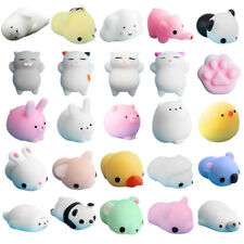 Carino Anti-Stress SQUISHY KAWAII di guarigione Mochi Reliever KID Spremere Decor Giocattolo Divertente