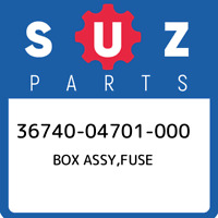 36740-04701-000 Suzuki Box assy,fuse 3674004701000, New Genuine OEM Part