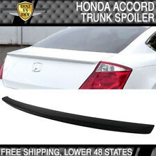 USA Stock 08-12 Honda Accord 2Dr Coupe OE Factory Unpainted ABS Trunk Spoiler