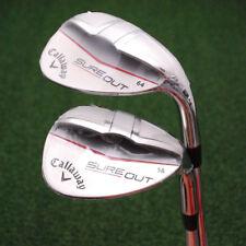 Callaway Golf Sure Out 58º&64º - 2 Pc Matched Sand Wedge Set Super Lob Steel NEW