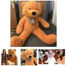 5 Feet Big Giant Teddy Bear Soft Huggable Stuffed Animal Toy Valentines Day Gift