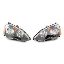 GENUINE FOR HONDA FRONT HEAD LIGHTS PAIR FOR HONDA INTEGRA TYPE R DC5 01-04