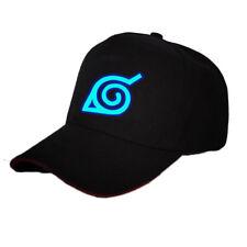 Anime Naruto Konoha Baseball Cap Sport Sun Hat Cosplay Gift Hip Hop Luminous New