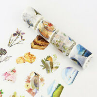 Klebeband Goldenes Folien-Design Sticky Papier Scrapbook Aufkleber