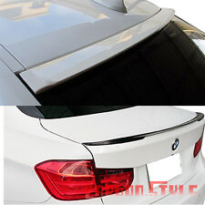 Painted BMW 4DR F30 3-Series A Roof & Performance Trunk Spoiler All Color 328i