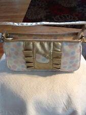 Hello Kitty PinkGold Handbag Purse - EUC
