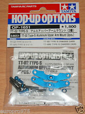 Tamiya 54651 TT-02 Type-S Aluminium Upper Arm Mount (2 pcs.) (type TT02-s drift)