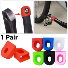 Cycling Silicone Crankset Arm Cover Crank Protector Protective Sheath Gel Sleeve