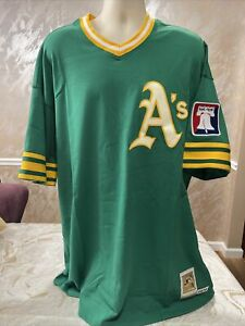Rollie Fingers Oakland A'S Mitchelle & Ness Jersey