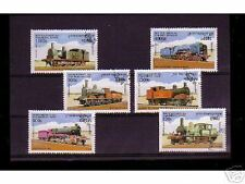 0826++CAMBODGE   SERIE TIMBRES TRAINS  N°3