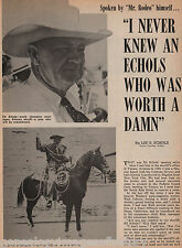 101 Ranch World Champion Steer Roper Ed Echols+Bjorquez,Cramer,Gardner,McGonagil