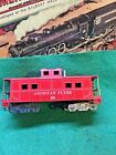REPLACEMENT AMERICAN FLYER #638 RED CABOOSE SHELL NO WHEELS/COUPLERS AS PARTS