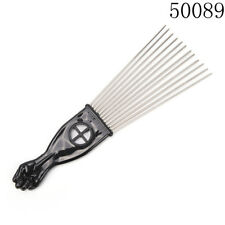 Fashion Salon Use Metal Comb Pick Comb Hair Brush Hairdressing Styling Tool 3c 50089