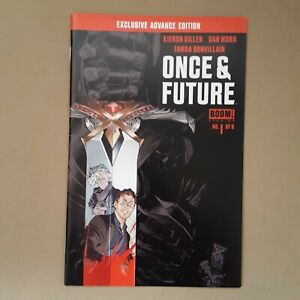 Once and Future #1 Exclusive Advance Edition SDCC 2019 NM/M Boom Studios