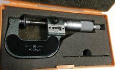 "Mitutoyo 223-125 Rolling Digital Disc Micrometer, 0-1"" Range, .001"" Graduation"