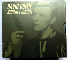 David Bowie Original Sound And Vision 3 Cd Box Set   NEW PRICE .1989