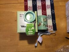 Authentic Scentsy Madame Butterfly Mint Lamp Wax Warmer (Includes Scent Bar)