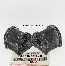 TWO OEM TOYOTA Camry Avalon REAR STABILIZER SWAY BAR BUSHINGS SET 2x 48818-12170