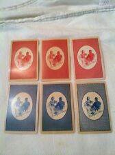 (6) Rare Vintage Breakfast Cheer COUPONS for Playing Cards The Campbell Woods Co
