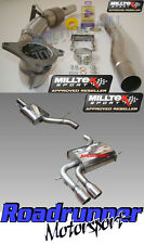 Milltek A3 Exhaust 2.0T Quattro 5 Door Downpipe Cat & Cat Back Resonate SSXAU044
