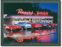 Rosie's Drive In Metal TIN Sign Garage Bar Shop Man Cave Wall Decor New