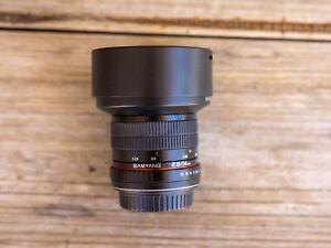Samyang 14mm f2.8 for Canon EF mount